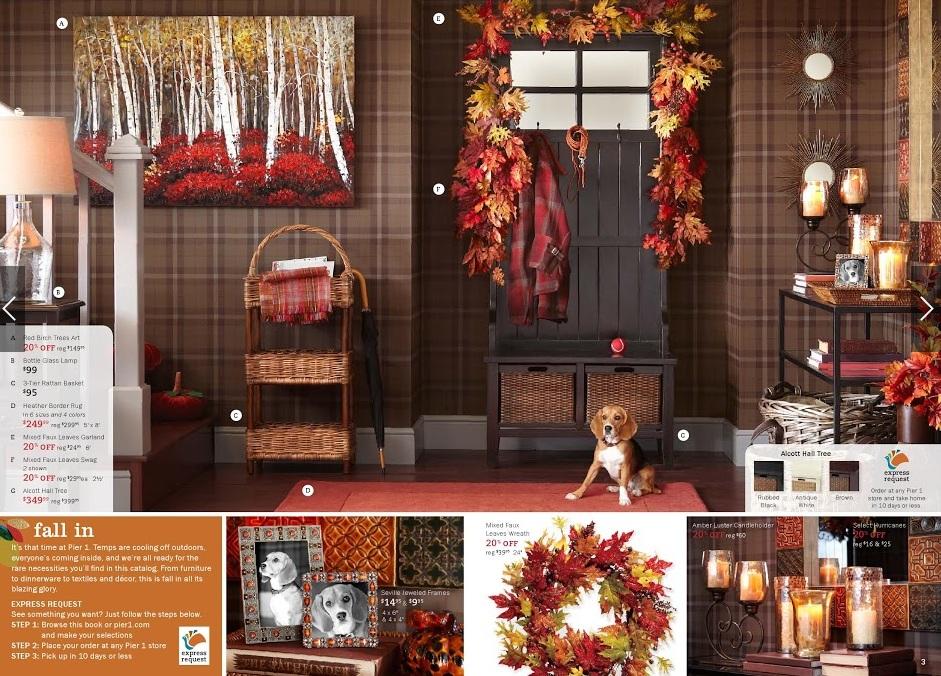 pier 1 fall catalog